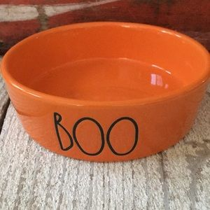 Rae Dunn Other - Rae Dunn BOO Pet Dish and Ghost Scrubby Holder